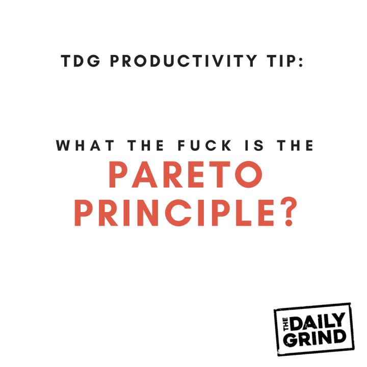 013- Pareto Principle