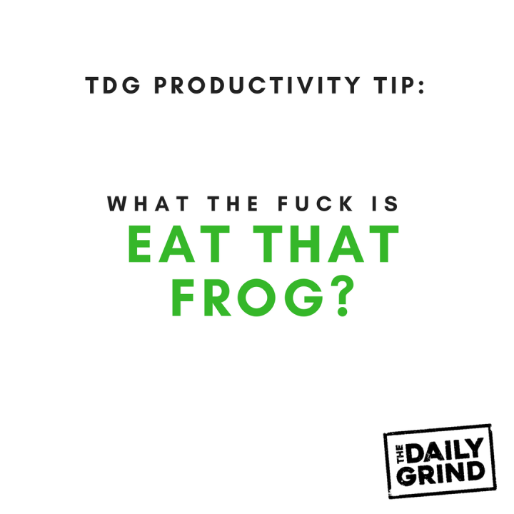 012 - Eat that frog