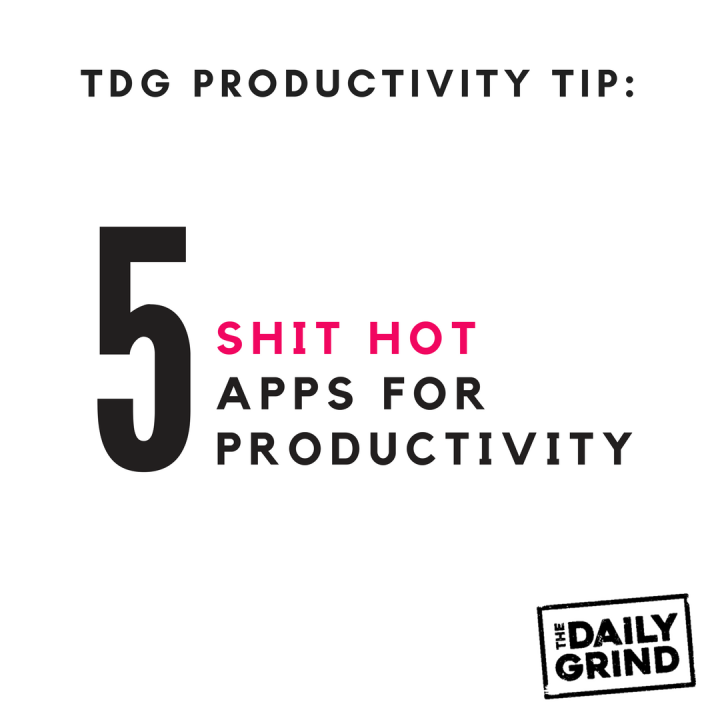 020-5 apps for productivity